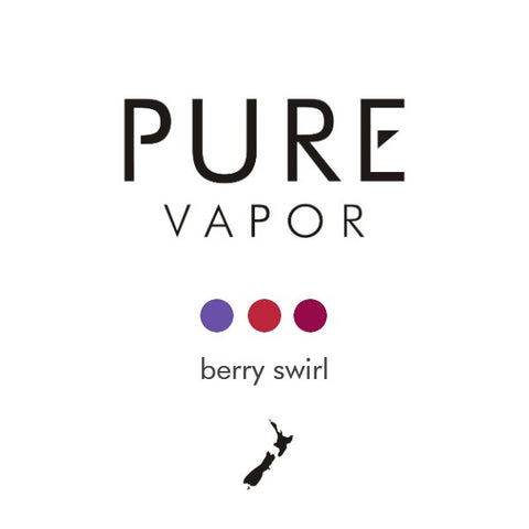 Berry Swirl 30 - 60 ml e-liquid - Pure Vapor E-cigarettes NZ