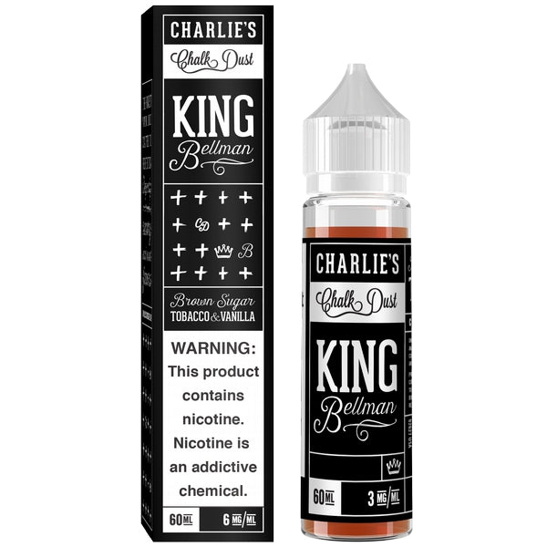 King Bellman E-liquid - Tobacco 60 ml - Pure Vapor E-cigarettes NZ