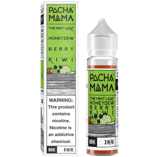 Pacha Mama - The mint leaf, Honeydew, Berry & Kiwi 60 ml - Pure Vapor E-cigarettes NZ