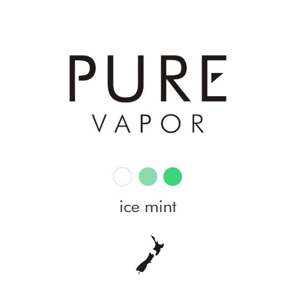 Ice mint 30 - 60 ml e-liquid - Pure Vapor