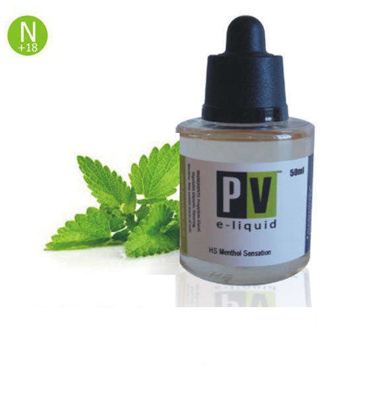 Menthol Sensation E-liquid 20 - 50 ml - Pure Vapor E-cigarettes NZ