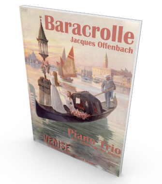 Barcarolle for string quartet, score and parts Salon Music