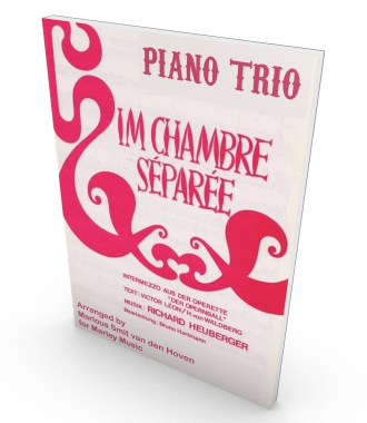 Im Chambre séparée, sheet music for piano trio, parts and score in PDF