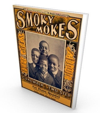 Smokey Mokes for piano quartet, sheetmusic, parts and score in pdf.
