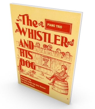 The Whistler and his Dog, sheet music, score and parts in PDF, piano Trio