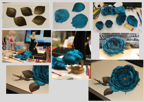 Birth of a Blue rose