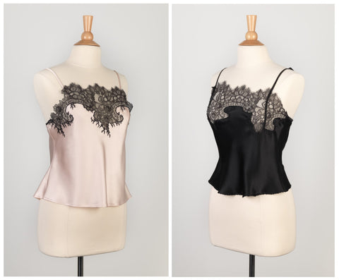 Delicate Nothings - Lace-trimmed Silk Camisole Workshop