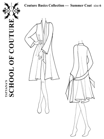 Couture Basics - Summer Coat pattern