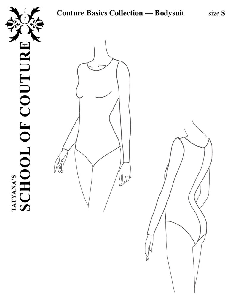 Couture Basics - Bodysuit on-line workshop