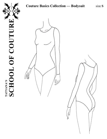 Couture Basics Collection — Bodysuit pattern