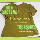 Melbourne Couture Group - Thursdays