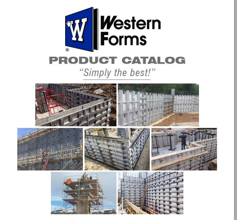 Aluminum Concrete Forms Catalog, Call or email us with any questions.