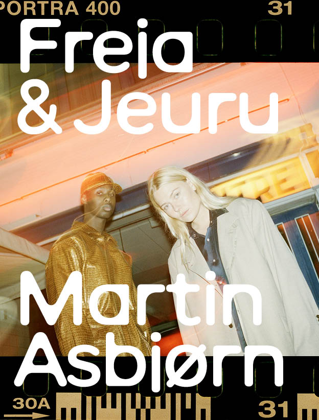 Martin Asbjørn's new in season campaign features influencer Freja Wewer and singer Jeuru
