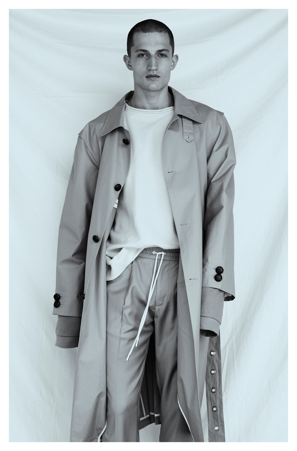 martin asbjørn oversized mens coat