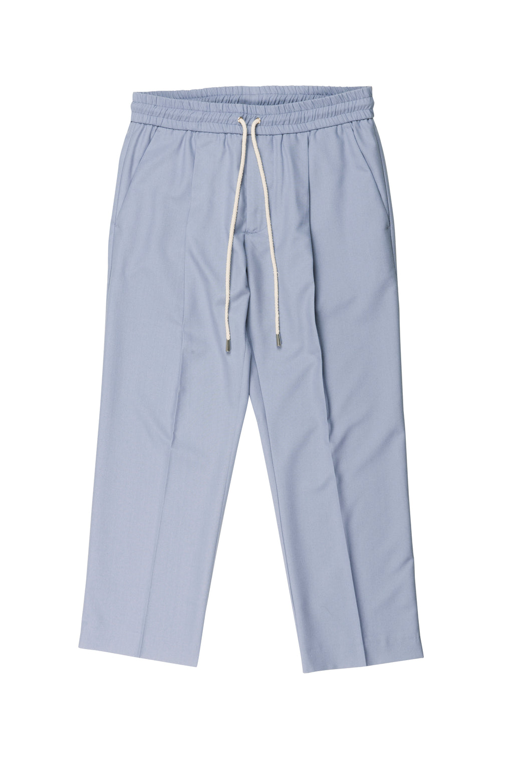 martin asbjørn cropped drawstring suit pants for men
