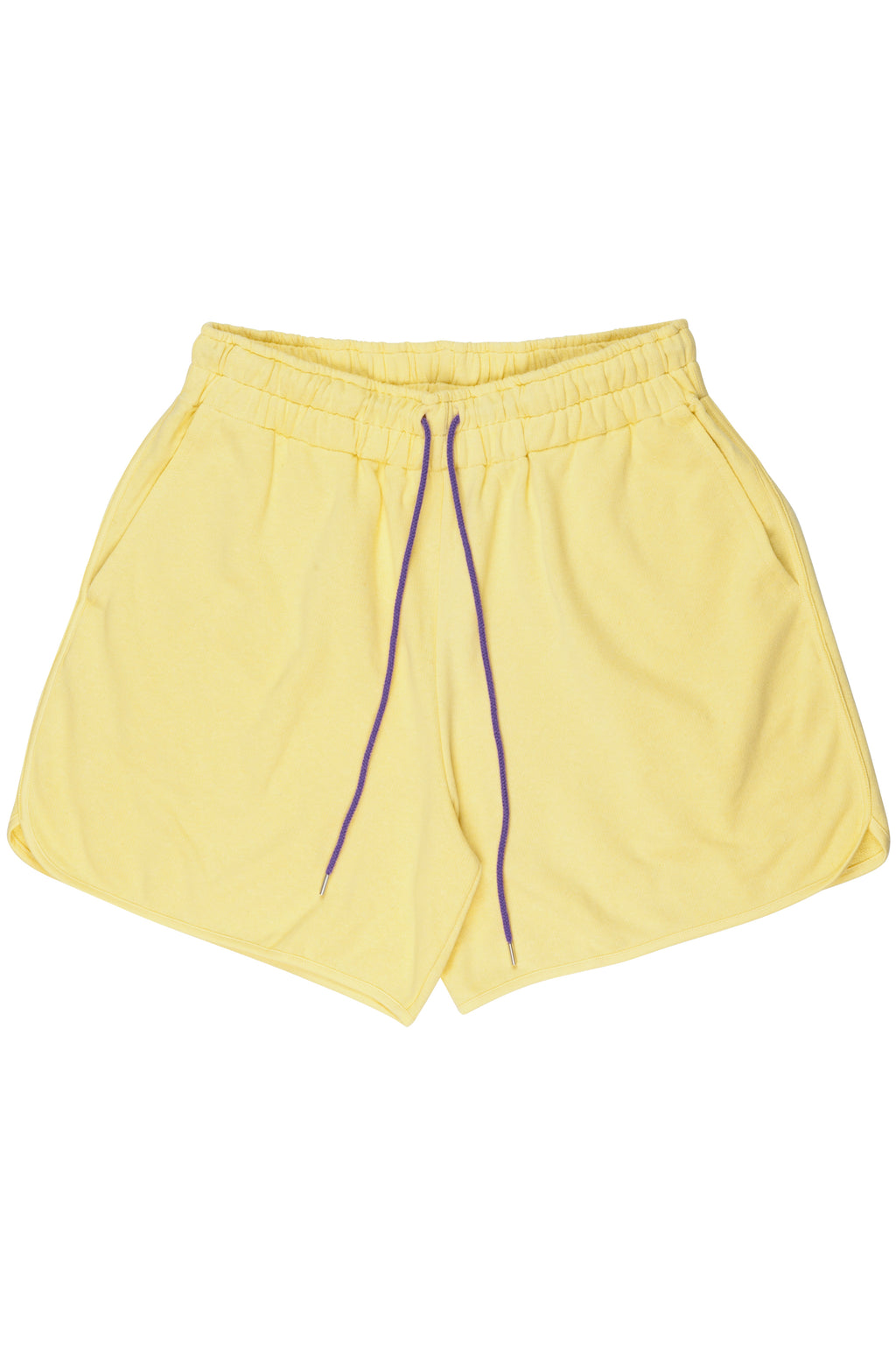 Banana Yellow sweat shorts from menswear brand Martin Asbjørn