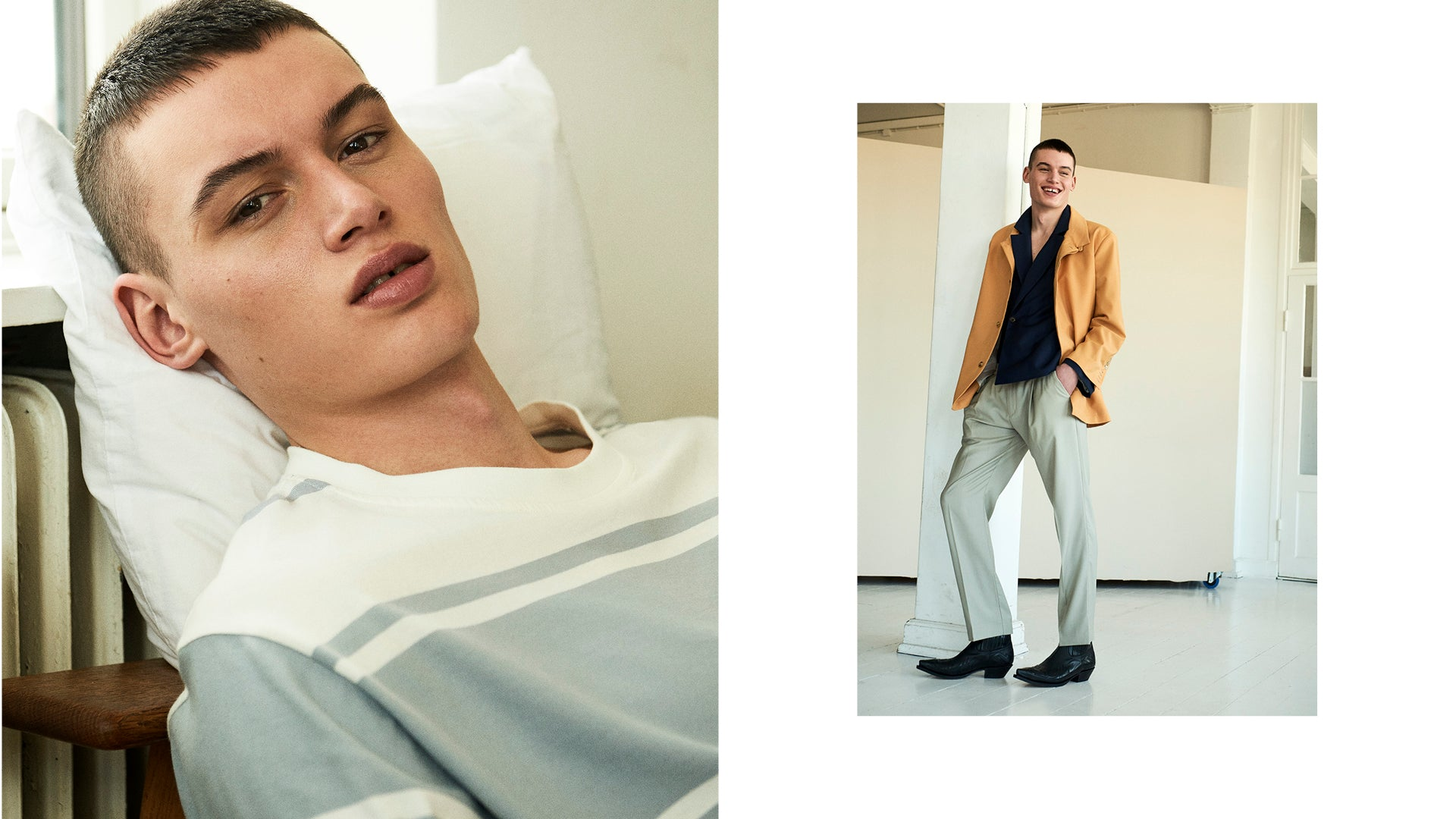 "Martin Asbjørn SS19 ""LUIS"" menswear editorial for Fuucking Young mag"