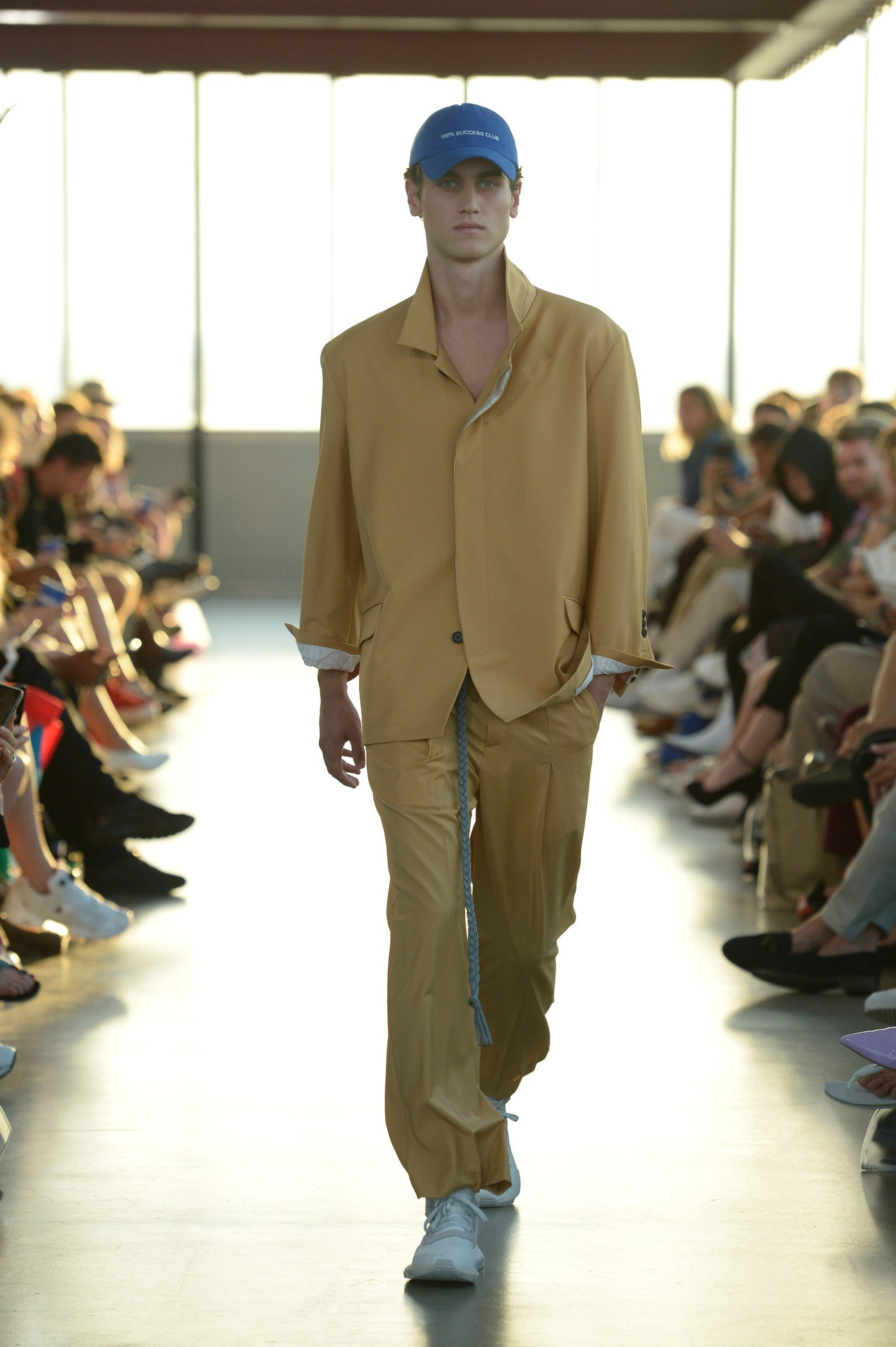 Martin Asbjørn Spring Summer 19 show at copenhagen towers during cphfw