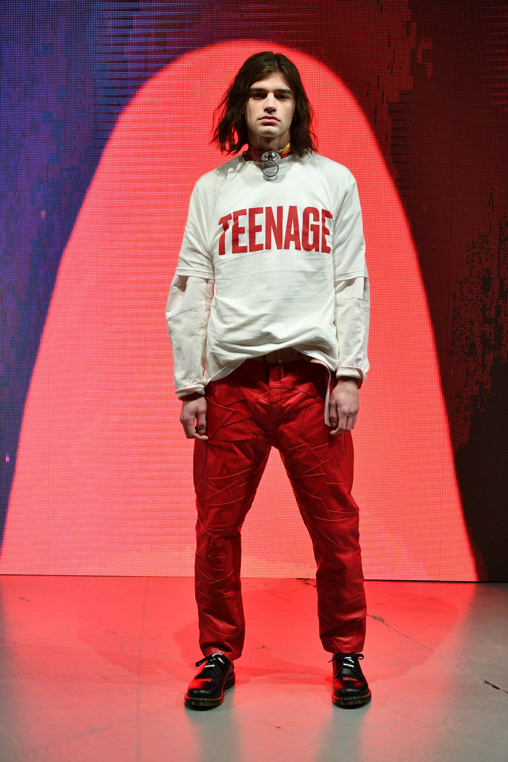 martin asbjørn fall 18 show teenage dirtbag during copenhagen fashion week