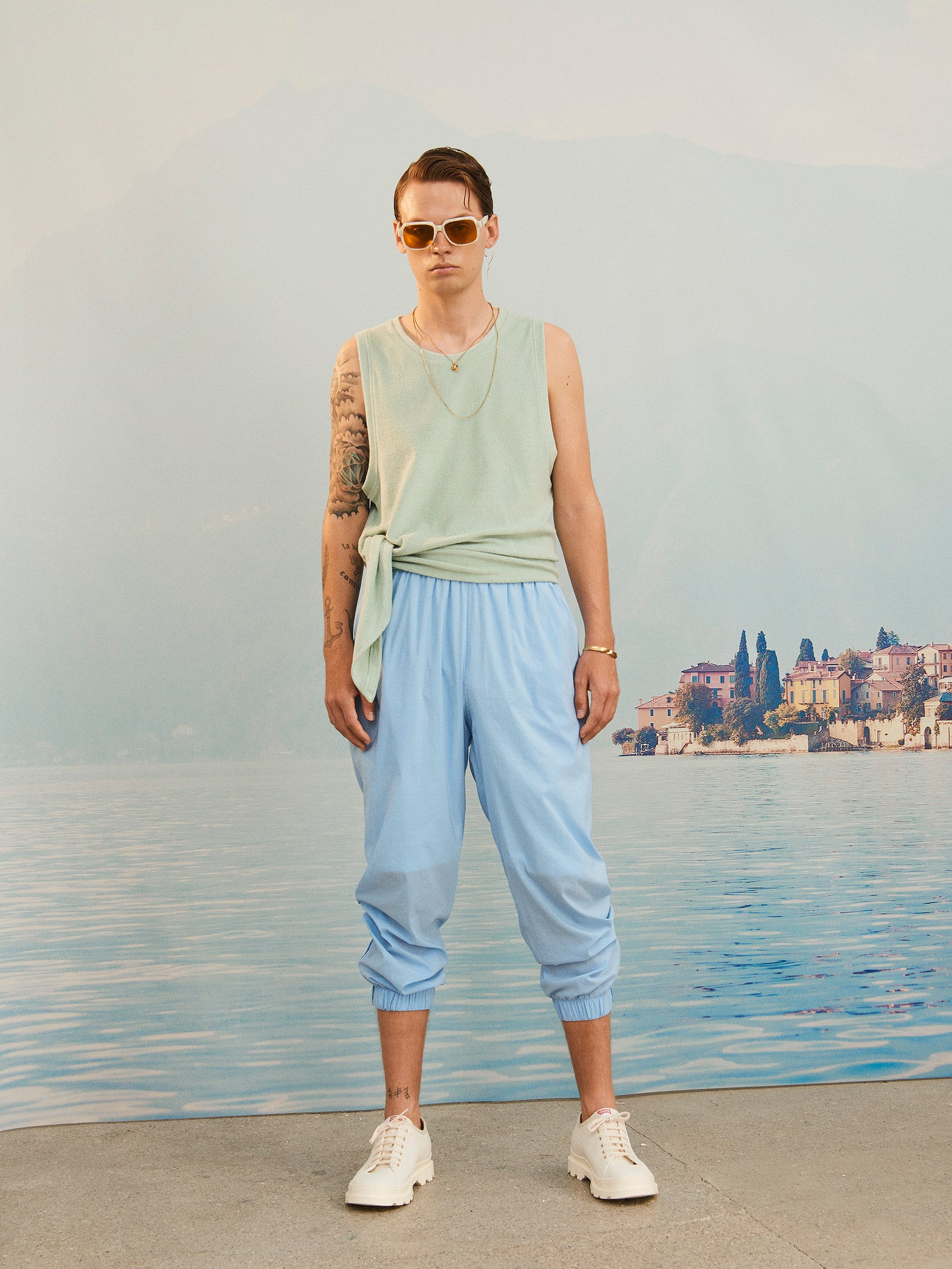 martin Asbjorn ma terry cotton tank-top terrycloth menswear ss20 spring20 boring lookbook