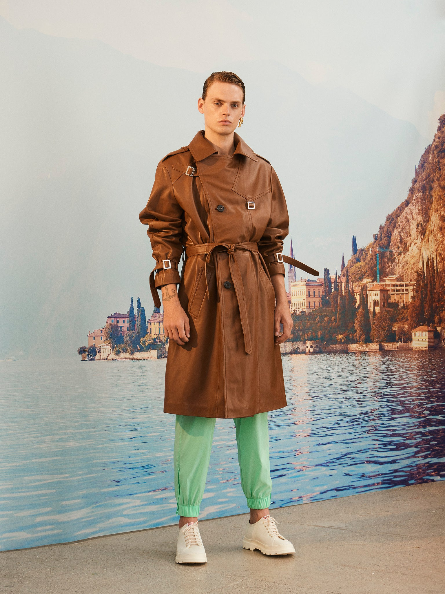 martin Asbjorn ma trenchcoat brown menswear unisex ss20 spring20 boring lookbook