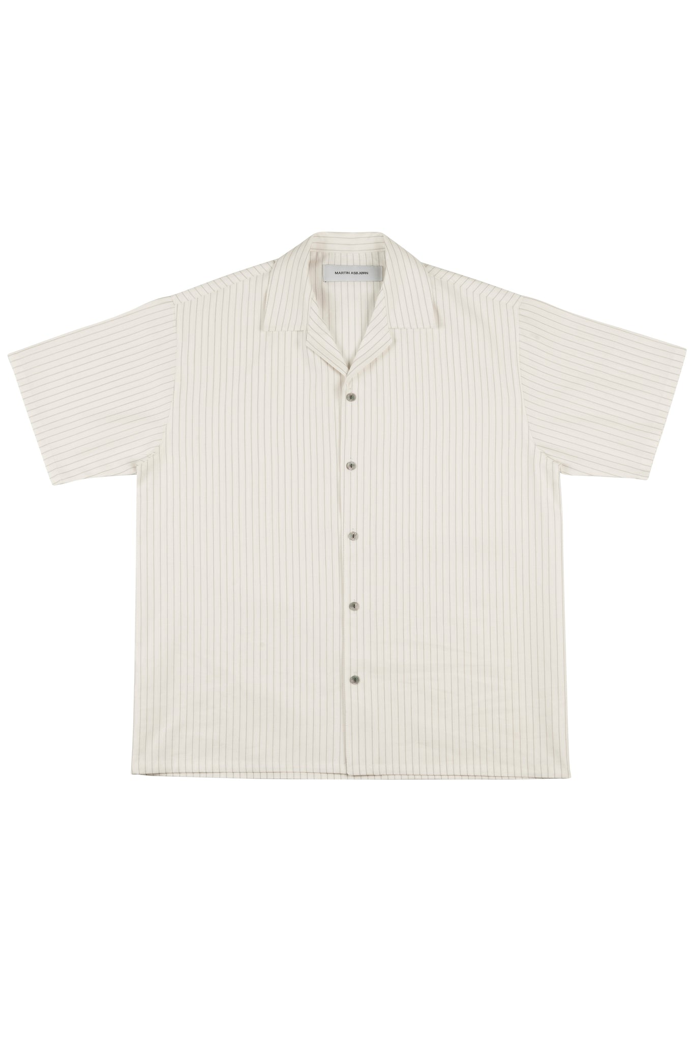 Martin Asbjorn Short Sleeve Pinstripe Shirt for Men