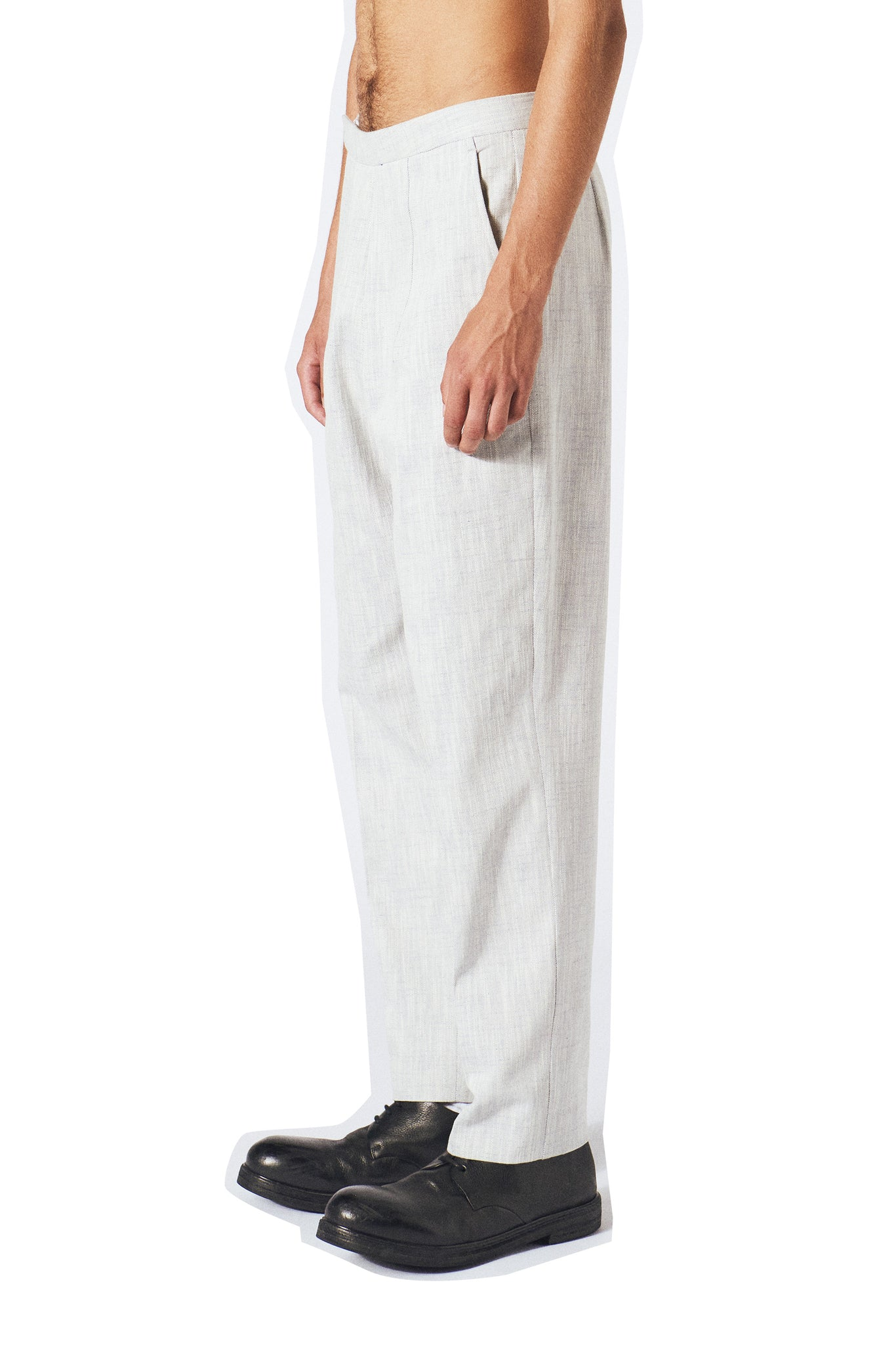 Dawn Trousers / Off white denim