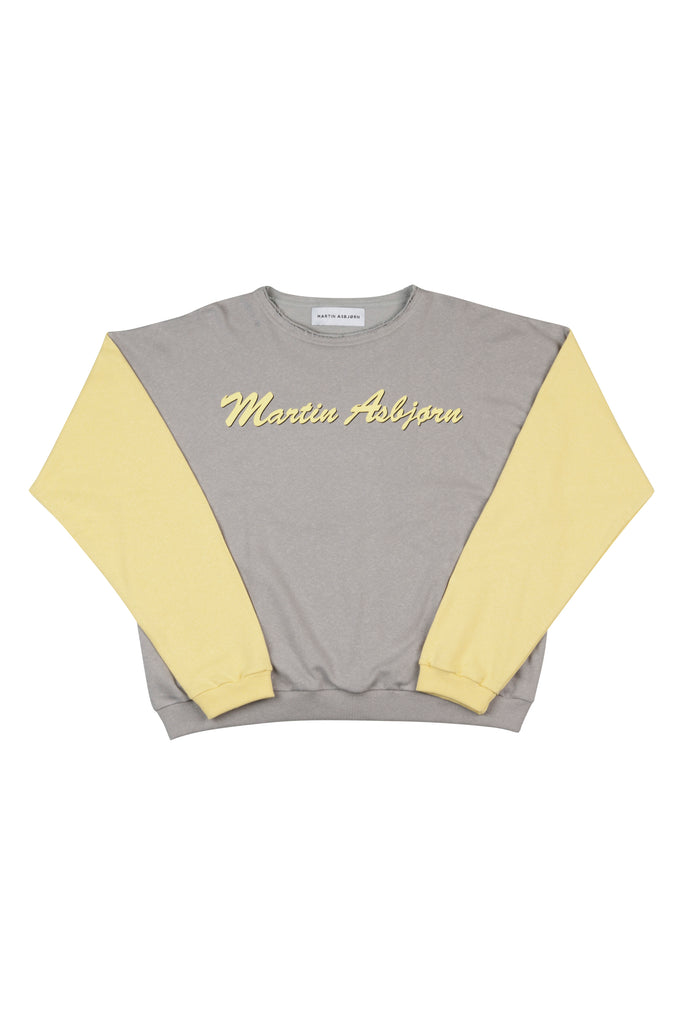 Julian Logo Sweatshirt / Banana Yellow