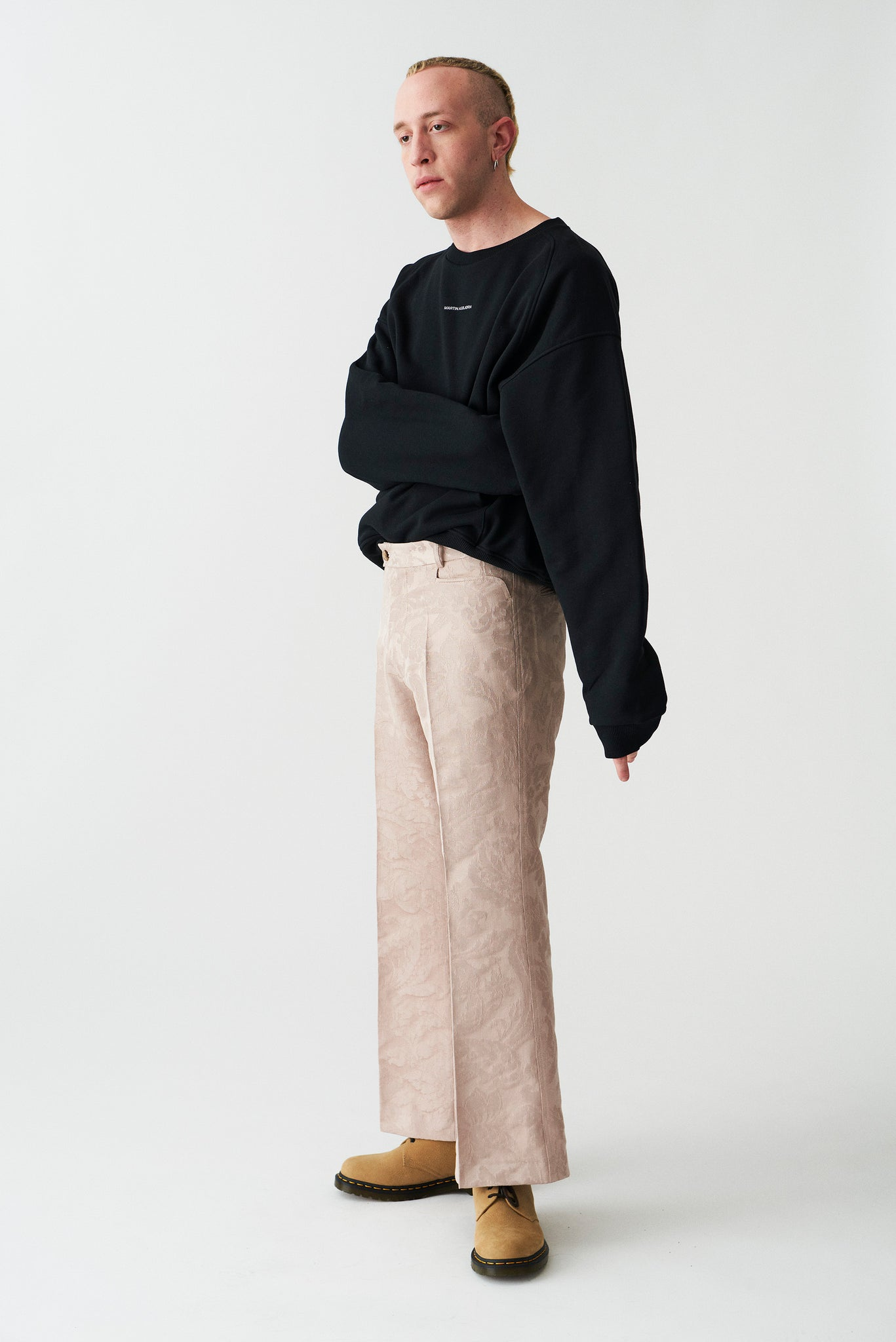 levi flared trousers rose Martin Asbjorn surplus