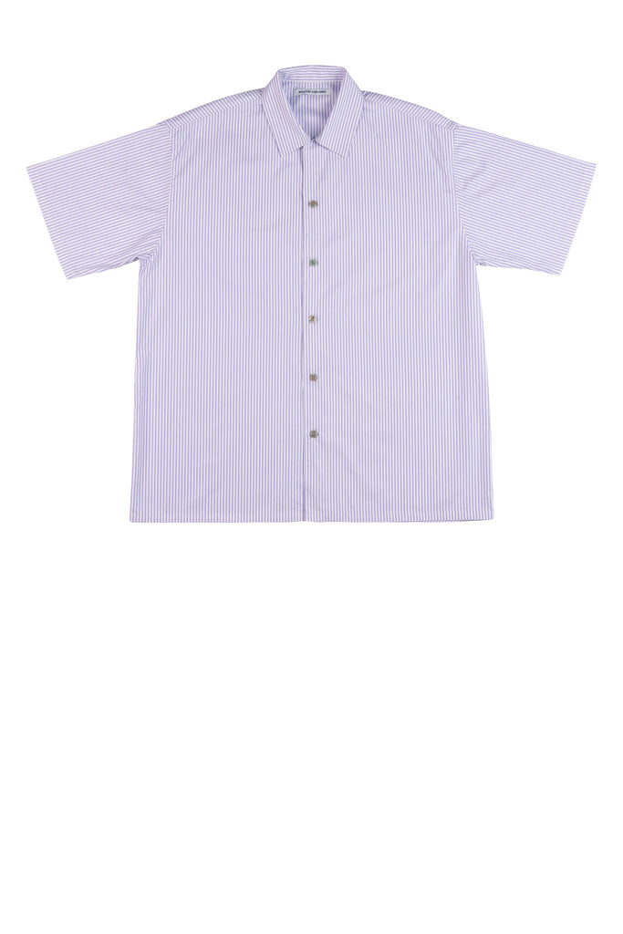 Frank Shirt / Purple Stripe