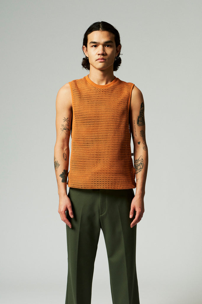 Gavin Tank top / Golden Ochre