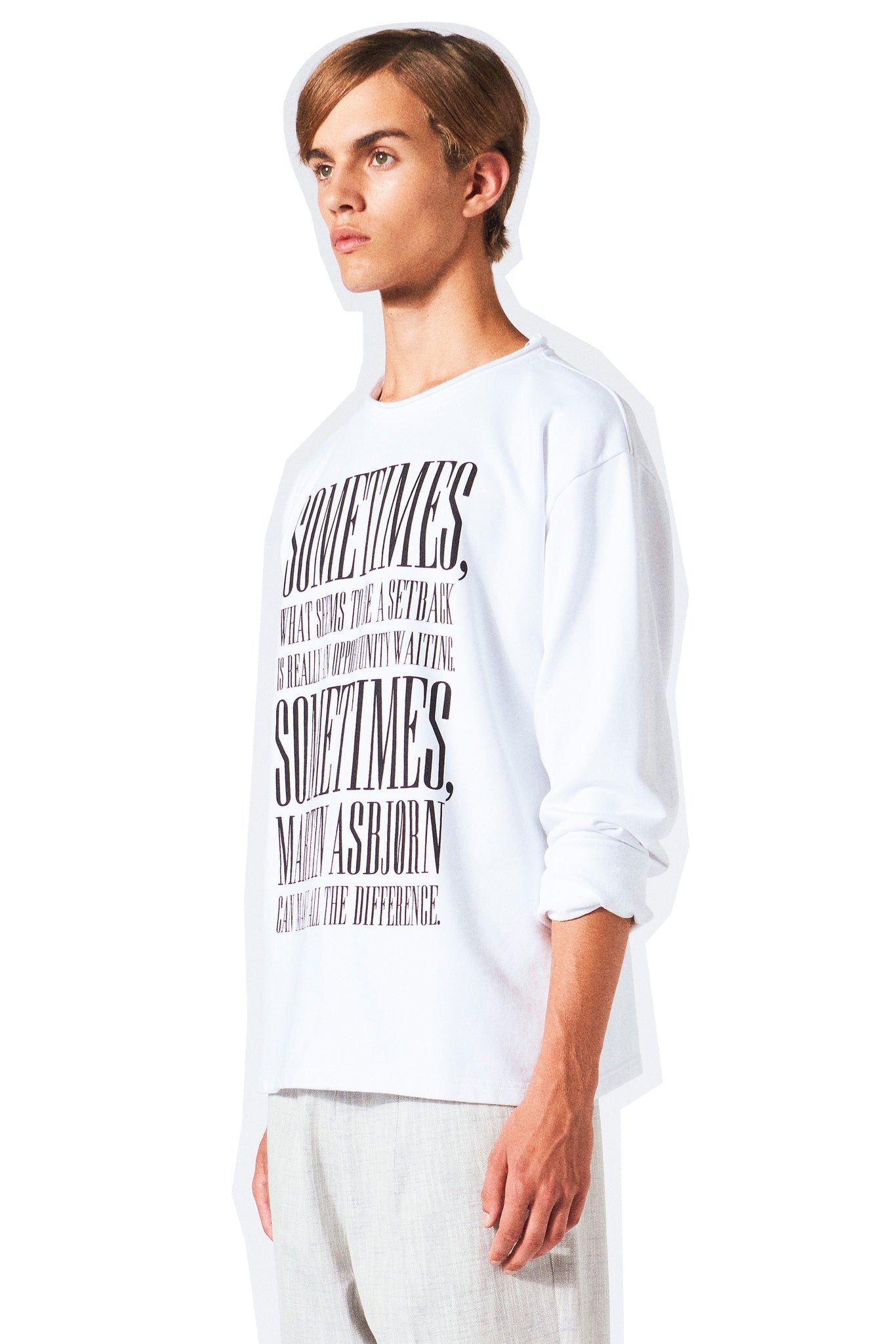 Liam Long Sleeve / White