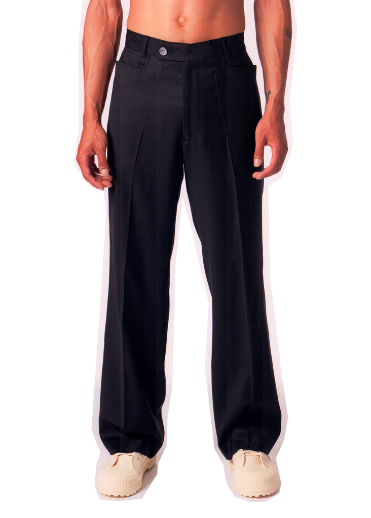 Greenleaf Trousers / Black