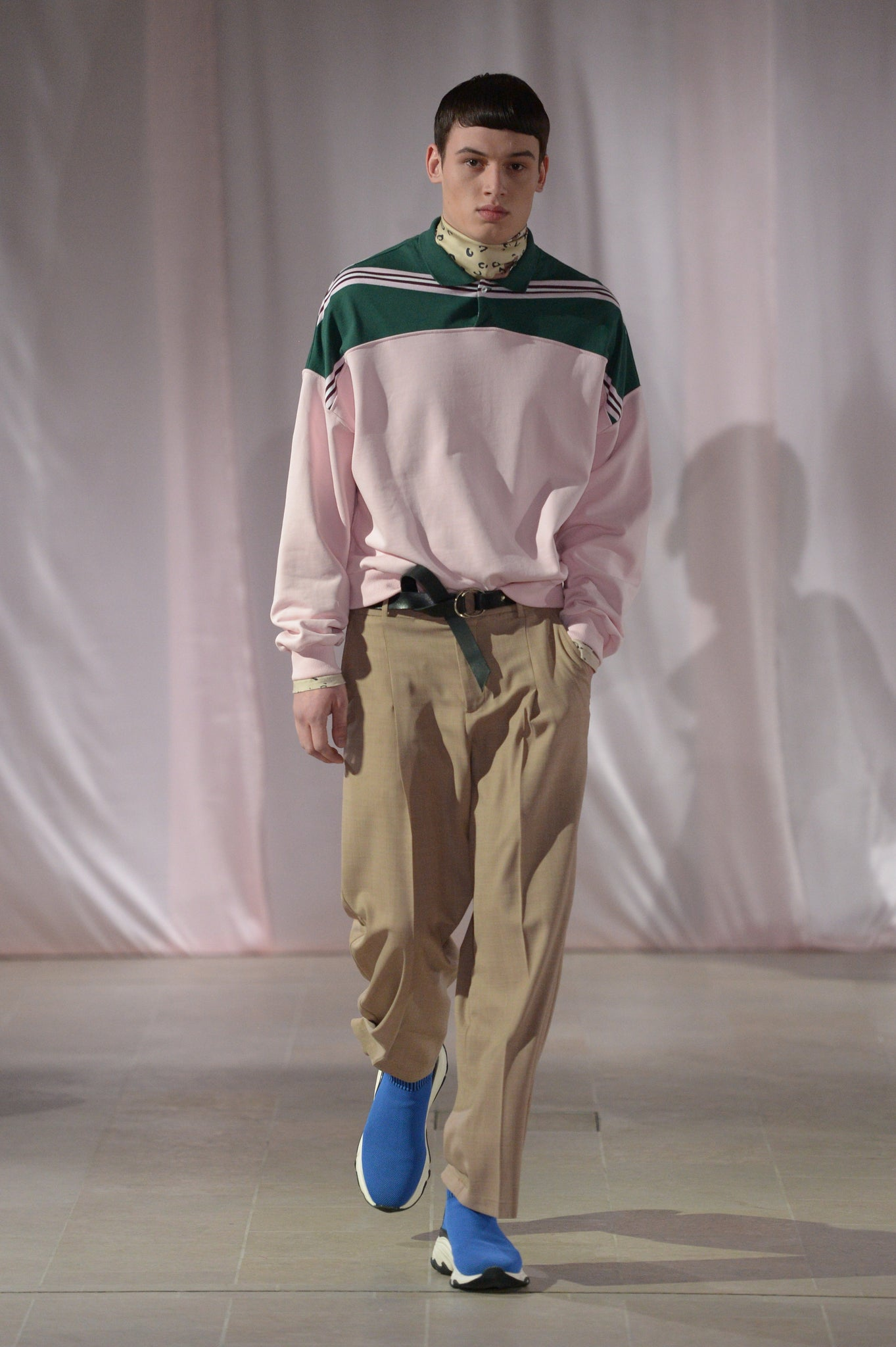 Martin Asbjørn Richie Polo Shirt in pink menswear mensfashion