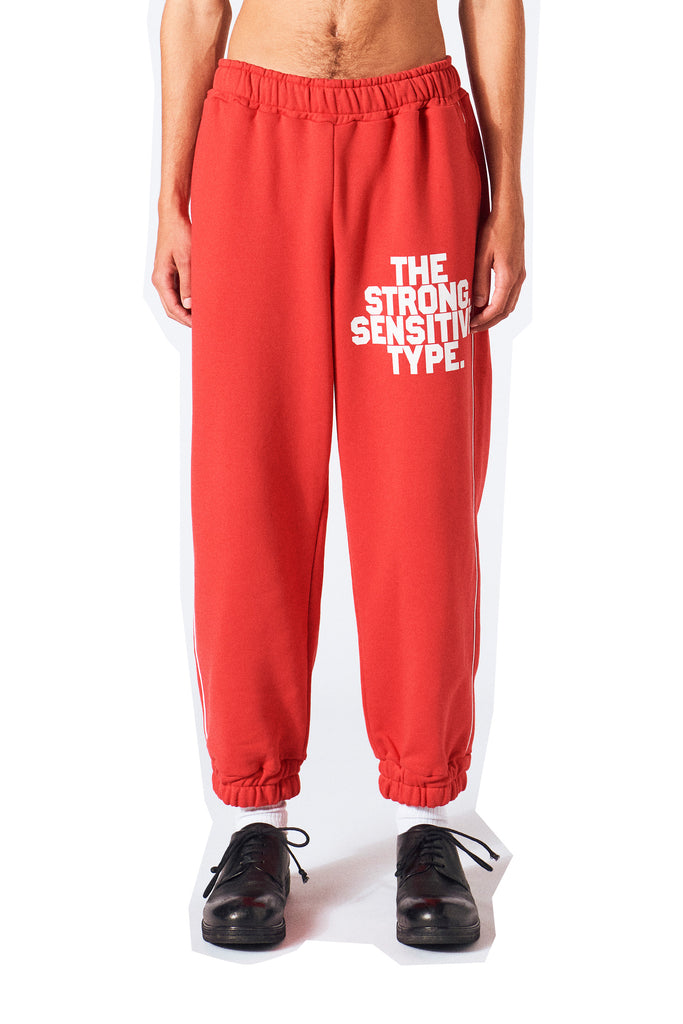 Nathan Sweatpants / Flame Scarlet