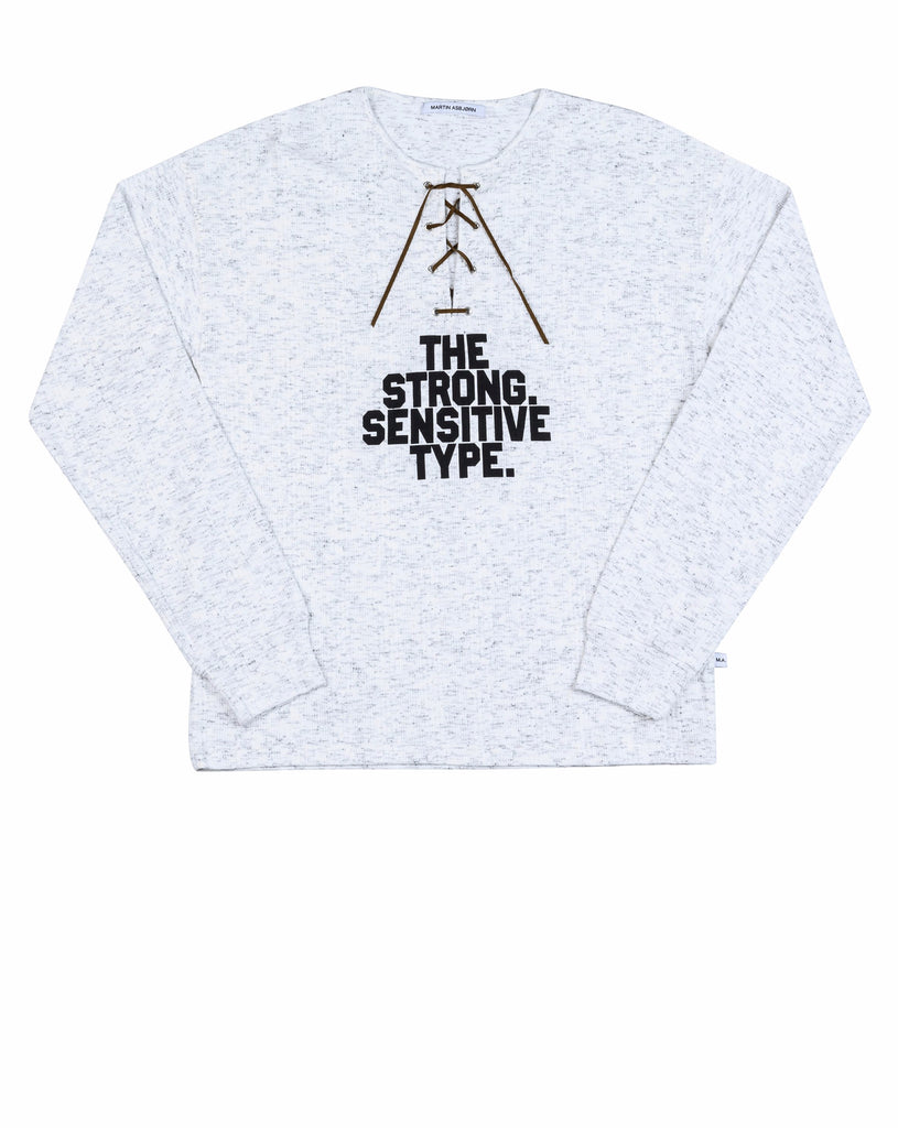 Shane long sleeve / Grey melange