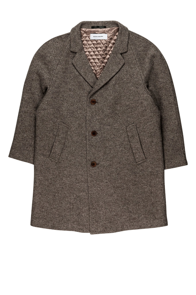 Toback Coat / Brown Melange