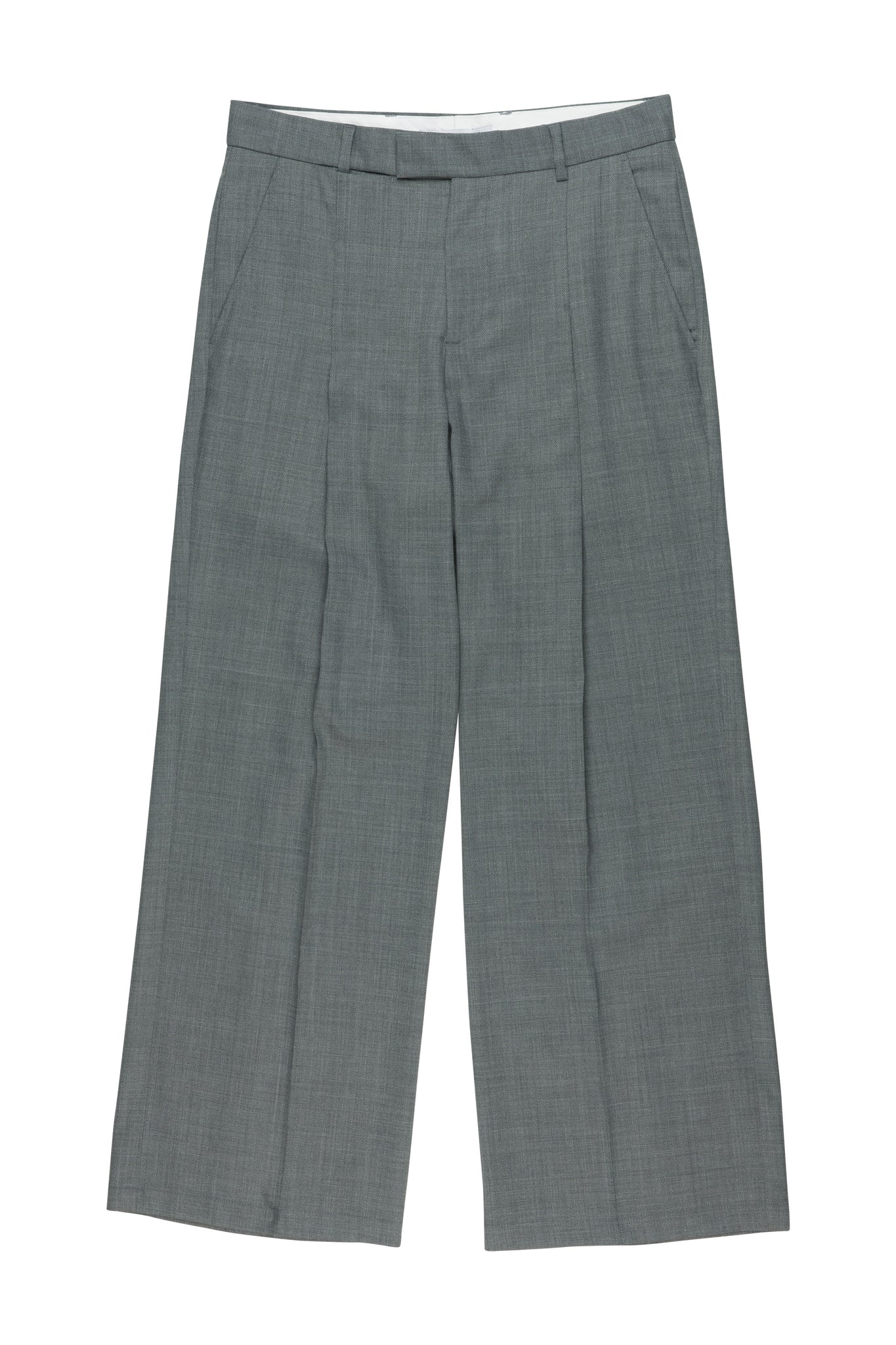 Trupo Trousers Light Grey from danish menswear designer Martin Asbjørn