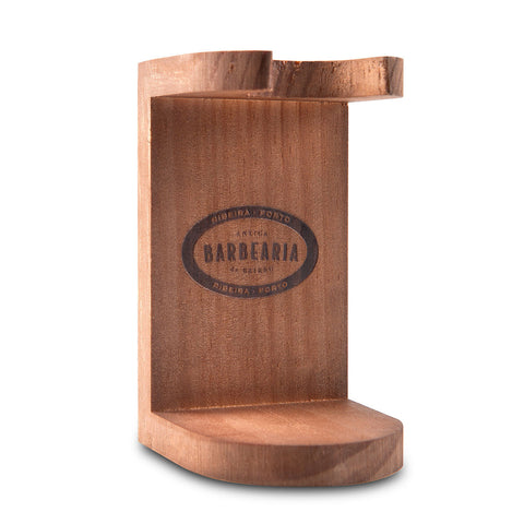 Shaving Brush Wooden Holder