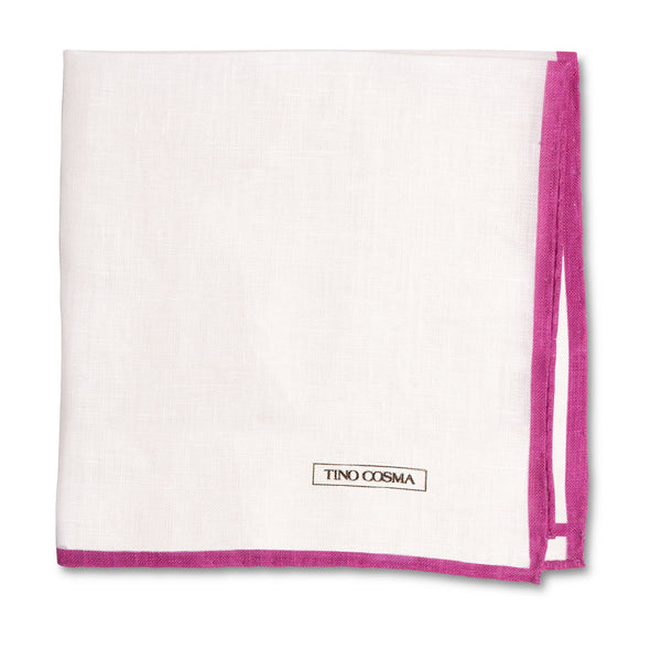 Pocket square | plain / magenta