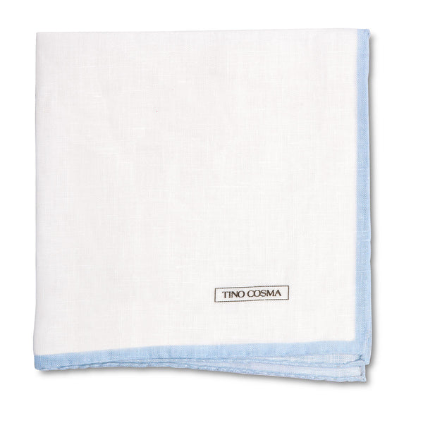 Pocket square | plain / light blue