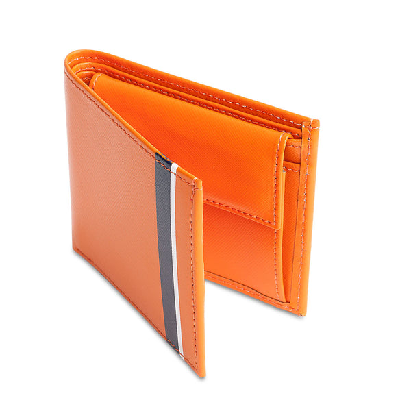 JR Saffiano leather wallet