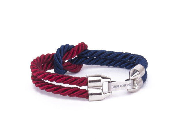 Breeze Rope | Sapphire Navy/Antique Ruby