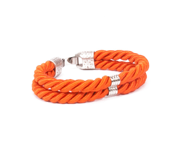 Voyage Bracelet / electric orange