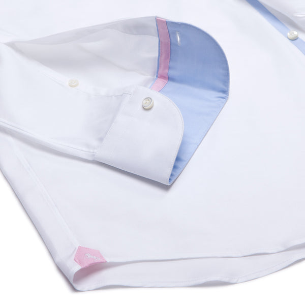 Portofino Oxford No. 101 | Pure White