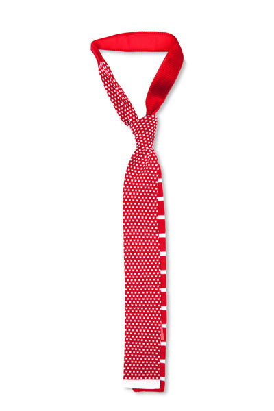 Tino Cosma Cotton Tie / hipster red