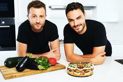 Bosh brothers with vegetables