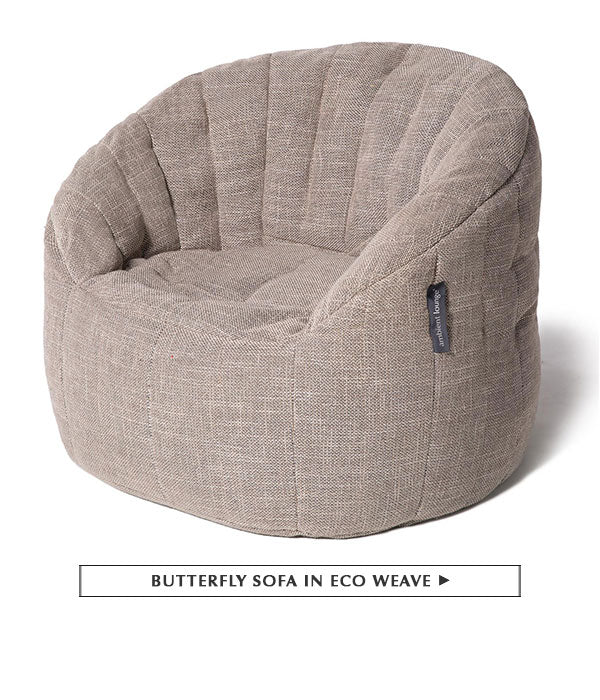 Butterfly Sofa in Eco Weave