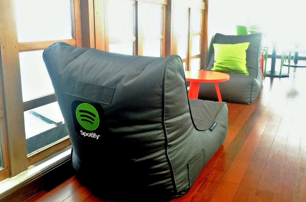 Evolution Sofas in Spotify Office