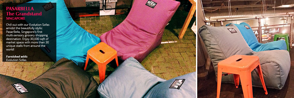 Check Out The Custom Branded Bean Bags Of Some Our Prestigious Clients Worldwide